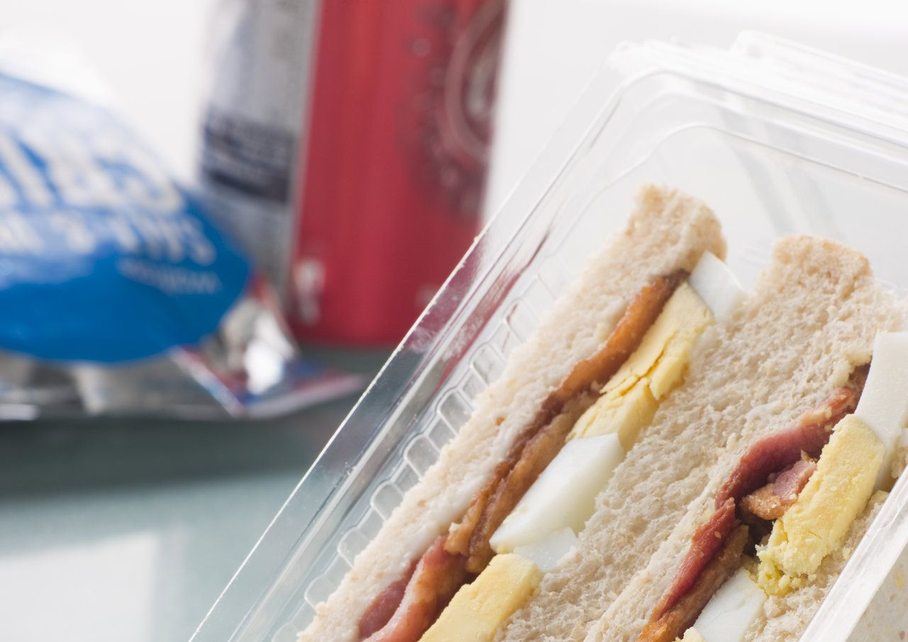 metabolic disease, sandwiches, fizzy drinks and crisps responsible