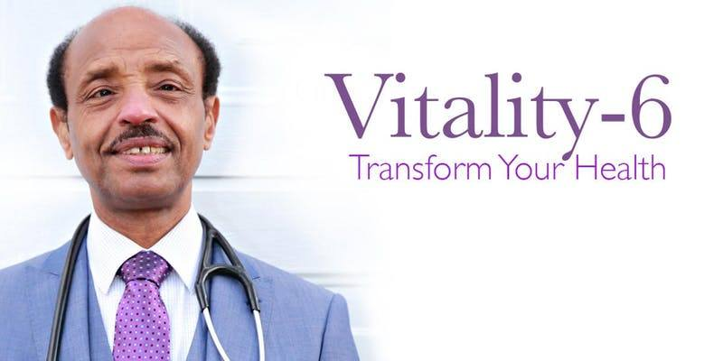 Nov 28 Vitality-6: Transform Your Health In 6-Weeks